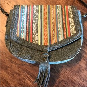 Bandana by American West Boho Rainbow Crossbody